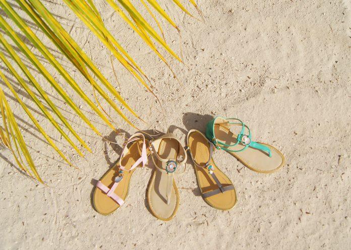 BOHO bikini's 2017 - fashion - footwear - turquoise