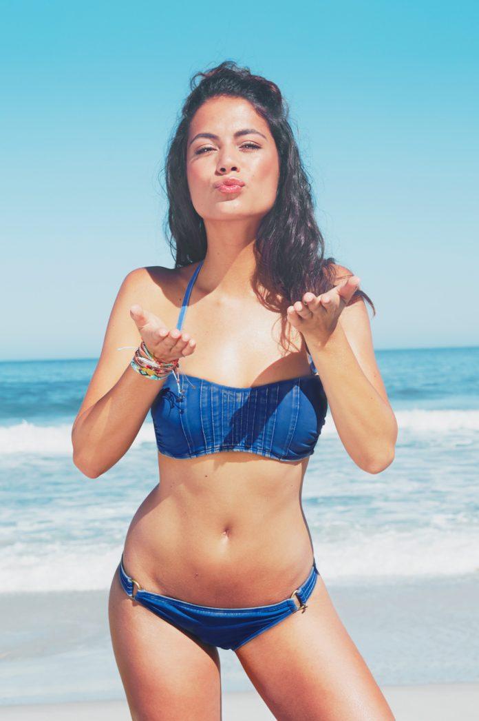 MELT summer nomads bikini stonewash blue luxe