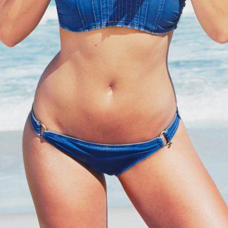MELT summer nomads bikini broekje stonewash blue luxe