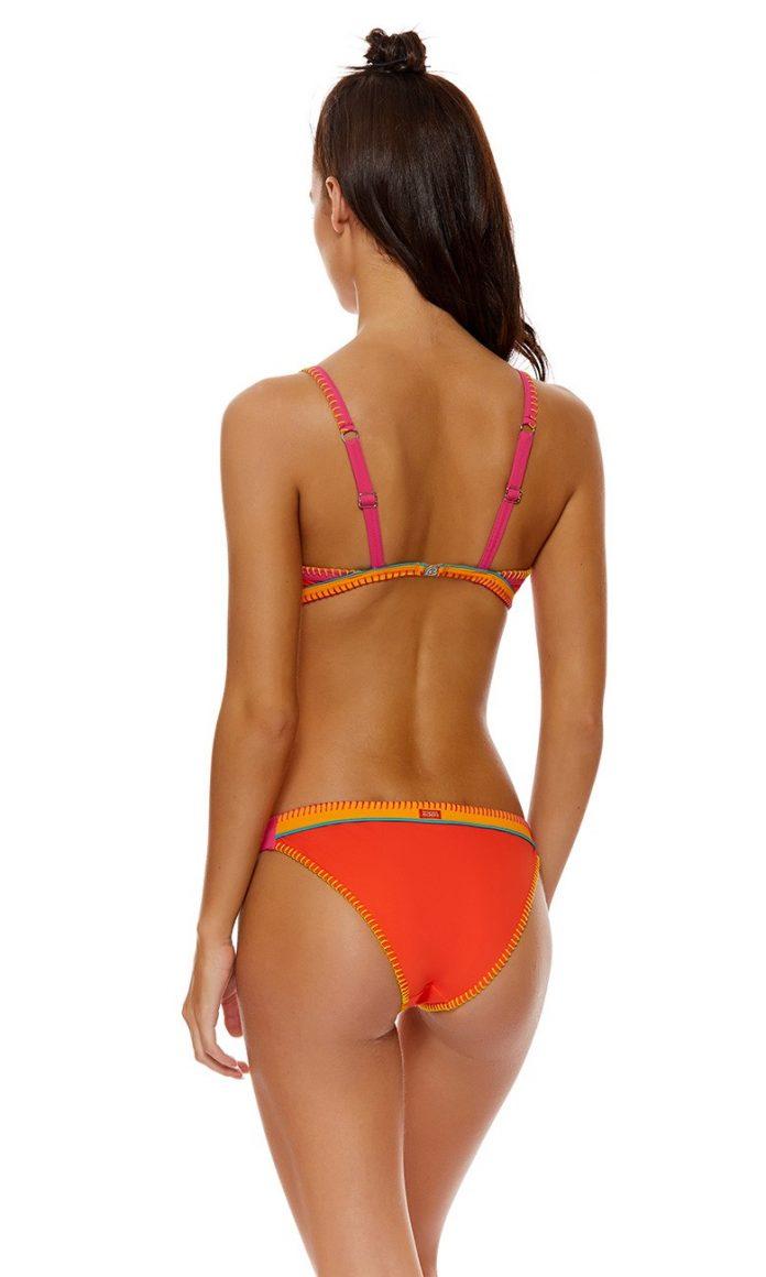 banana moon teknicolor bikini top oranje trendy zomer 2018