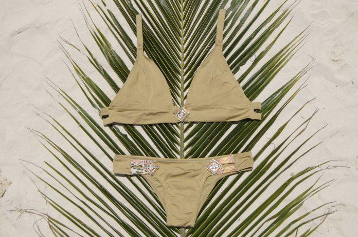 BOHO bikini broekje LUSH bronze goud 2018