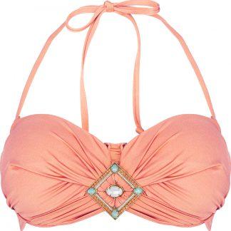 BOHO bikini 2018 Bohemian bandeau peach