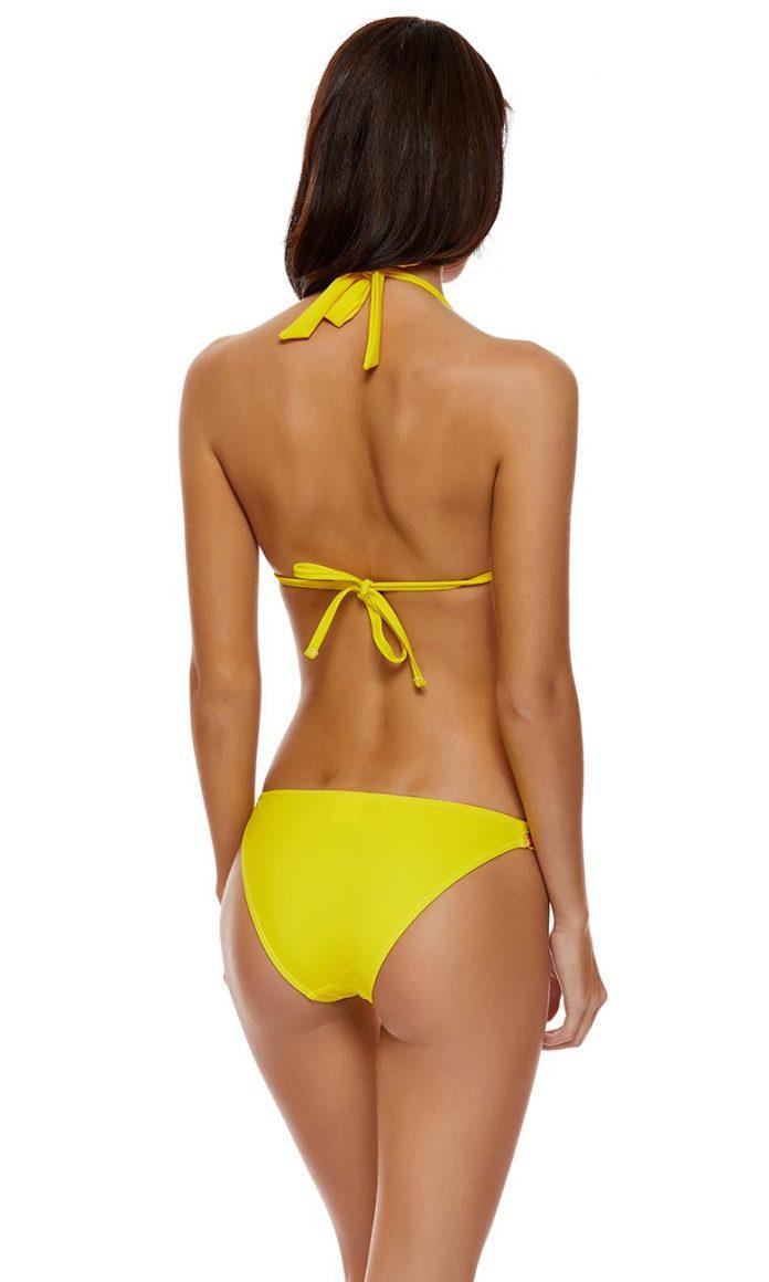 banana moon NARANJA bikini geel trendy zomer 2018