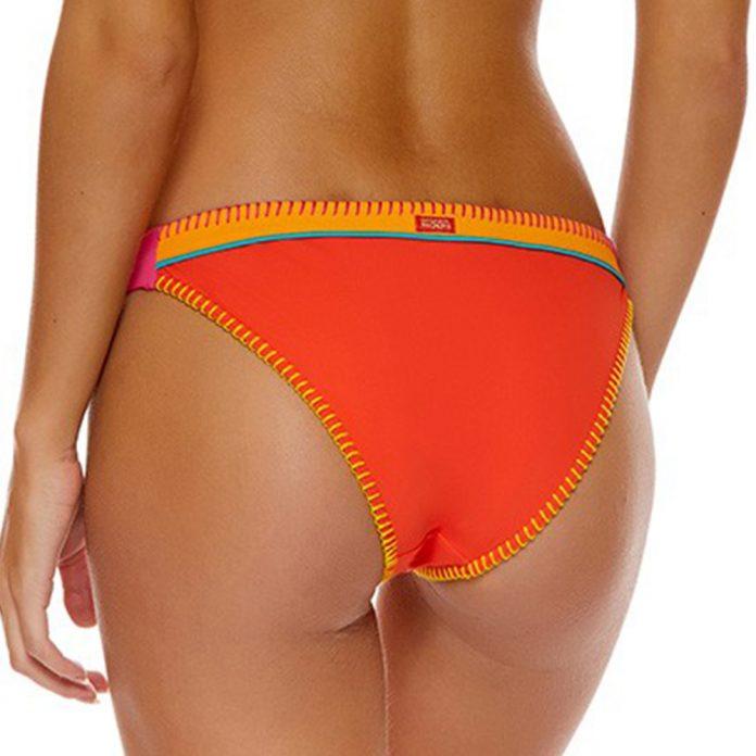 banana moon teknicolor bikini broekje oranje trendy zomer 2018