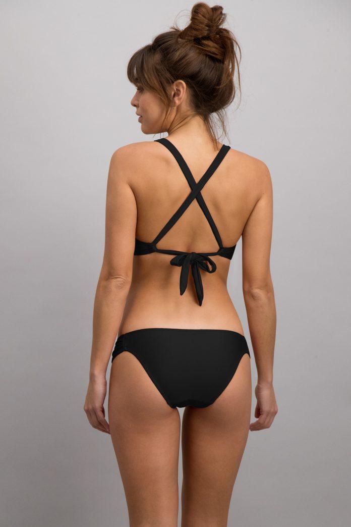 TrendyZomer SHIWI 2018 beugel bikini zwart glitter achterkant