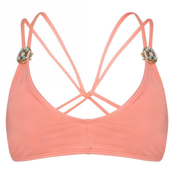 BOHO-bikini-2018-Ultimate-bralette-peach-perzik-roze trendy zomer 2018
