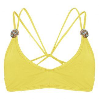 BOHO-bikini-2018-Ultimate-bralette-yellow-geel trendy zomer 2018