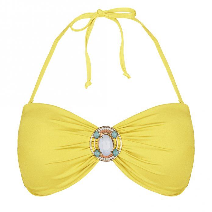 BOHO-bikini-Iconic-bandeau-yellow-geel trendy zomer 2018
