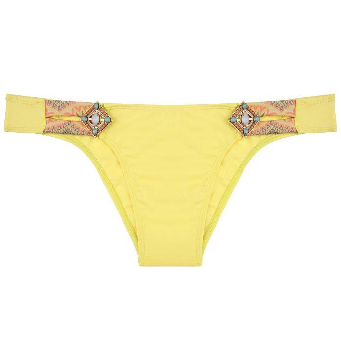 BOHO-bikini-2018-Lush-bottom-yellow-geel-aztec trendy zomer 2018