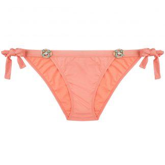 BOHO-bikini-2018-Glossy-bottom-peach-perzik-roze trendy zomer 2018