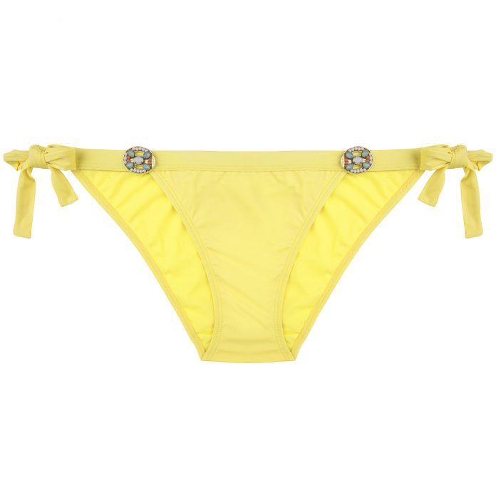 BOHO-bikini-2018-Glossy-bottom-yellow-geel trendy zomer 2018