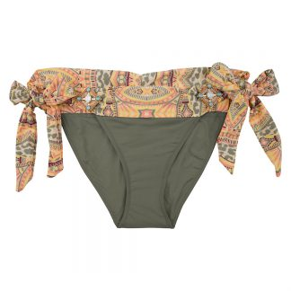 BOHO-bikini-2018-Elite-bottom-olive-groen-aztec