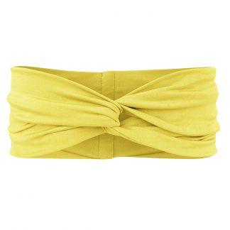 BOHO-bikini-hairband-yellow-front