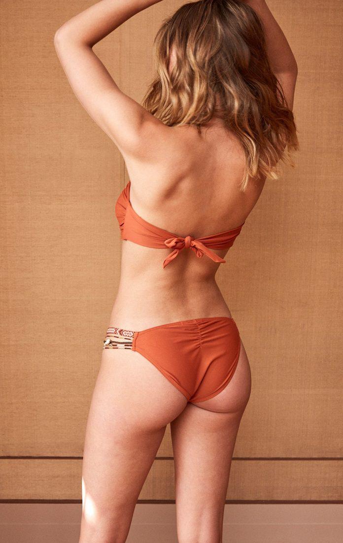 AMENAPIH bikini my swim oranje trendy zomer 2018 achterkant 2
