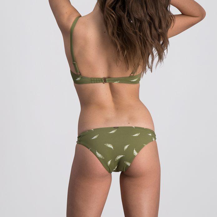 Melt bikini 2018 Feather groen Trendy Zomer 2018 back