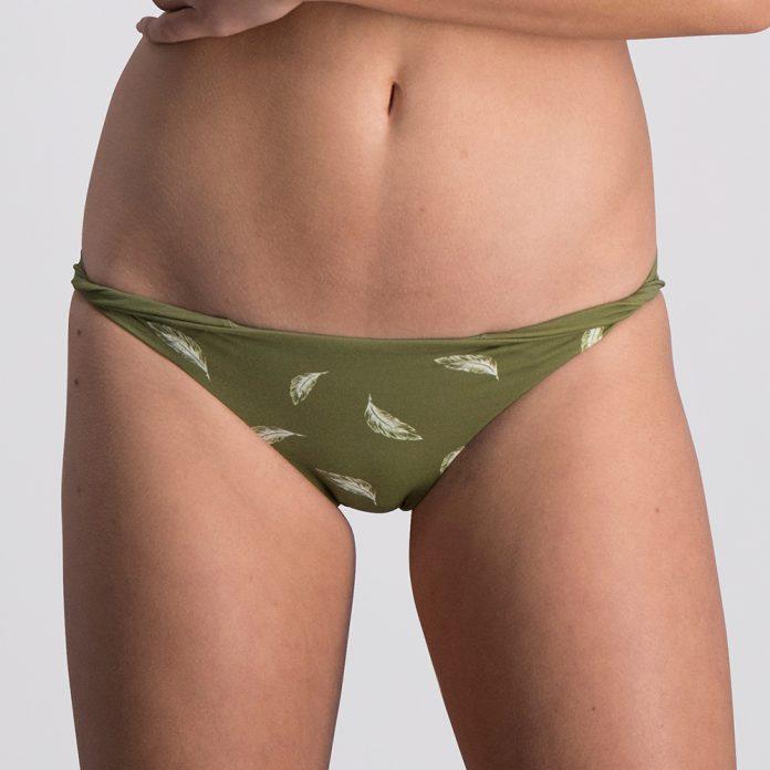 Melt bikini 2018 Feather groen Trendy Zomer 2018 broekje