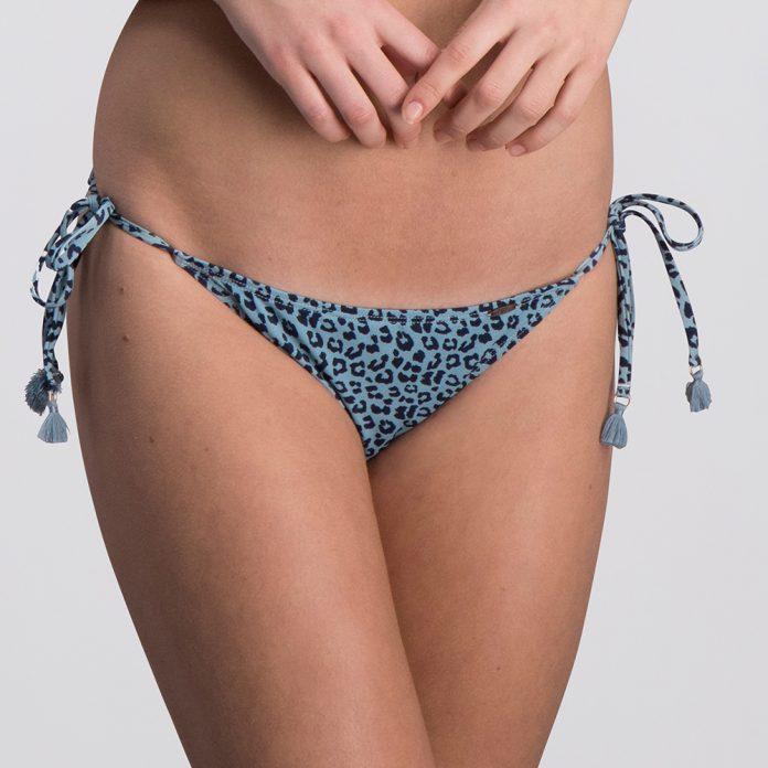 Melt bikini 2018 Animal blauw Trendy Zomer 2018 broekje
