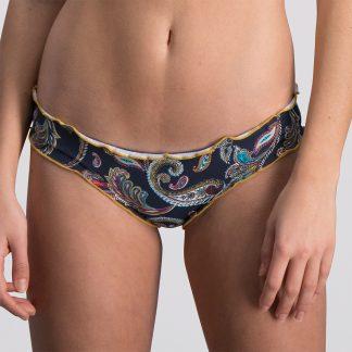 Melt bikini 2018 Paisley blauw print multicolor Trendy Zomer 2018 broekje