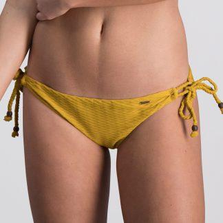 Melt bikini 2018 Knotted geel Trendy Zomer 2018 broekje