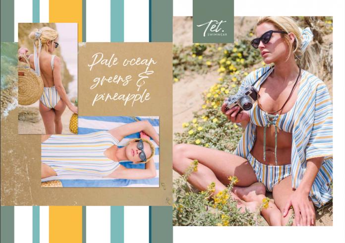 TET swimwear sun stripe sfeerbeeld