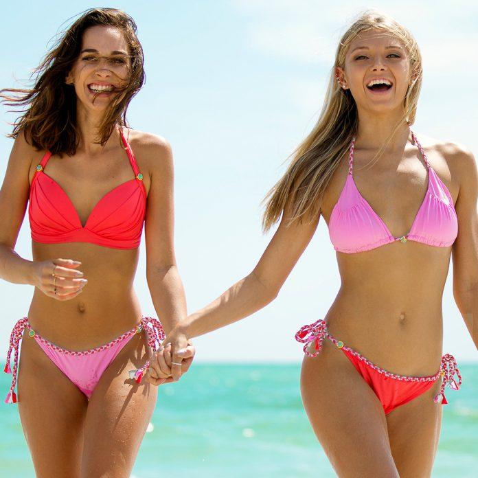 BOHO-bikini's-2019-TrendyZomer_lustrous_luminous_coral-red_vivid_rose-pink-1