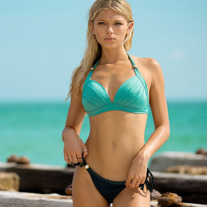 BOHO-bikini's-2019-TrendyZomer_lustrous_mint-green_luminous_charcoal-grey-1