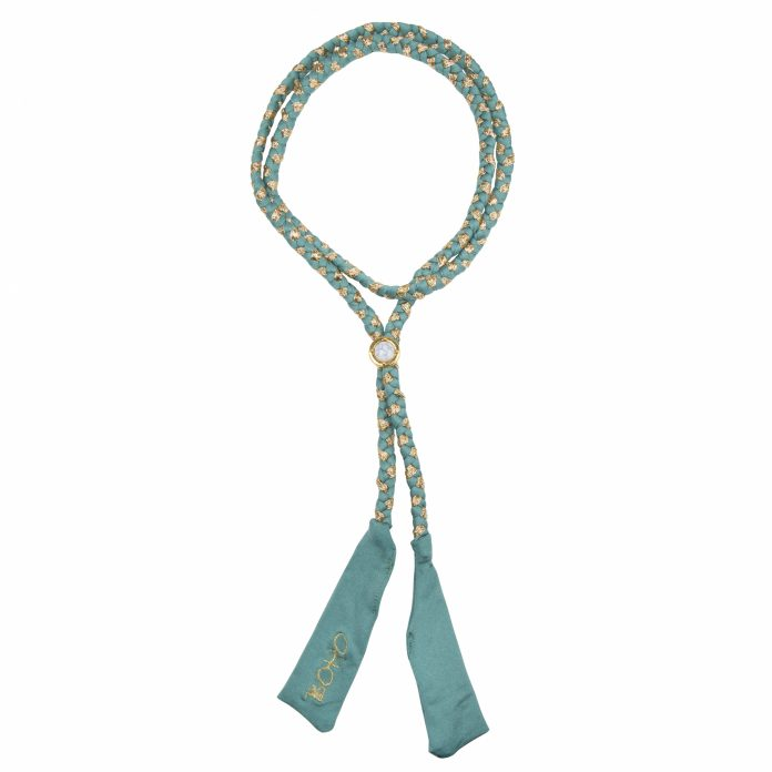 bo19-14-boho-long-braided-ribbon-sage-green-gold